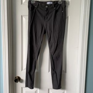 Loft gray skinny pants